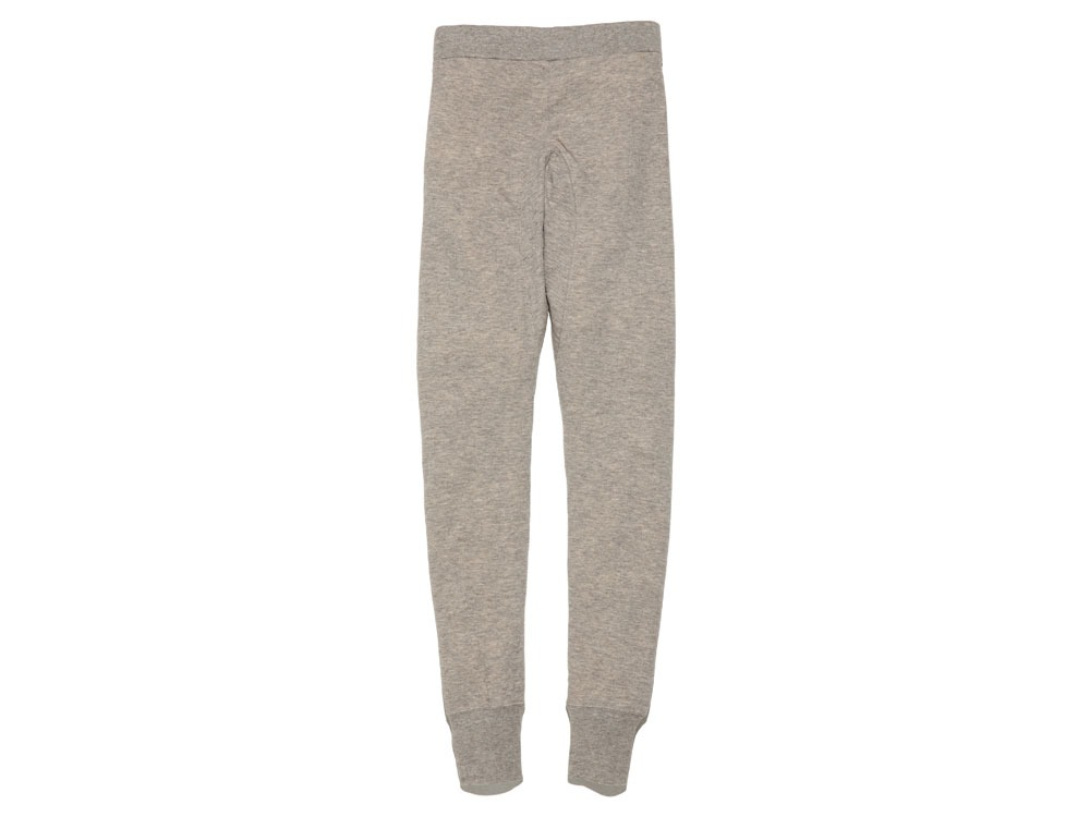 Yak/Cotton Double Knit Tights S M.Grey2