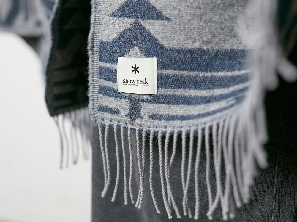 Shetland Wool JQ Blanket Beige3