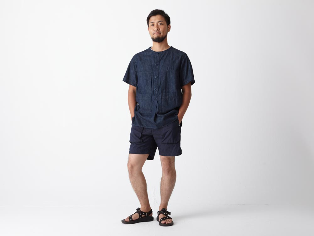 Dungaree Field S/Sleeve L Indigo1
