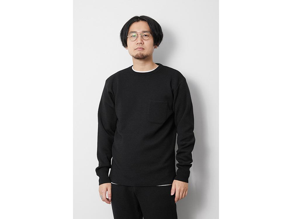 Li/W/Pe Crewneck Long Sleeve 1 Black