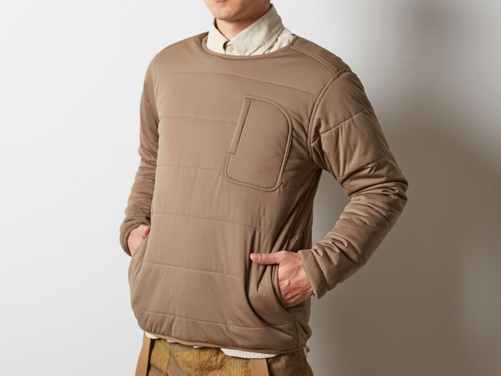 Flexible Insulated Pullover 2 Brown4