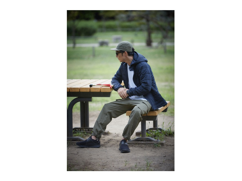 Flexible Insulated Hoodie 2 Navy