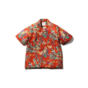 Printed Quick Dry Shirt M Orange