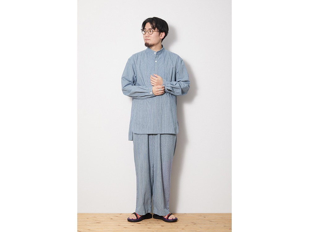 SHIJIRA Long Shirt L Black
