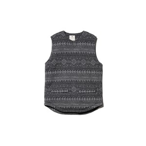 Shetland Cotton JQ Tweed Vest