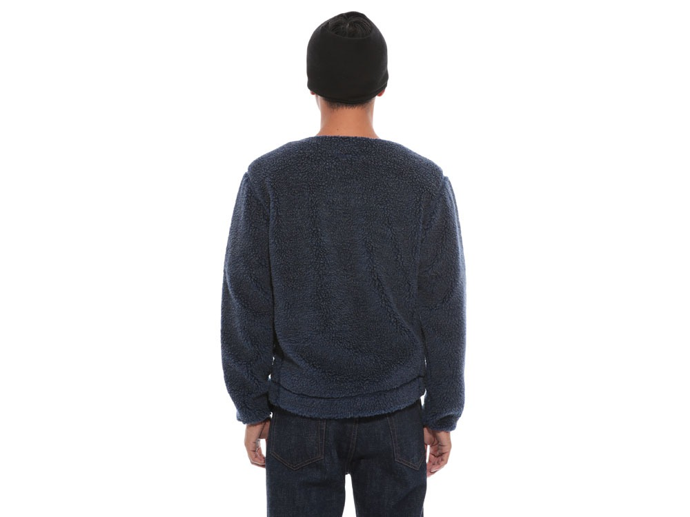 Soft Wool Fleece Jacket 2 Blue4