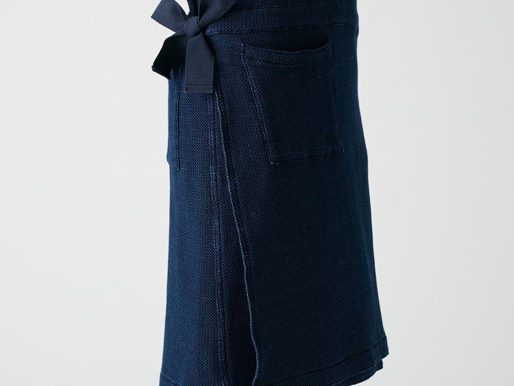 Dobby Denim Dress 1 Ecru7