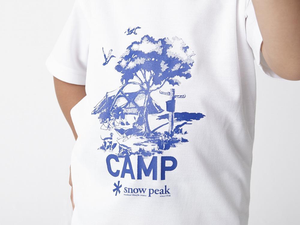 Kid's Printed Tshirt:Camp Field 4 Grey4