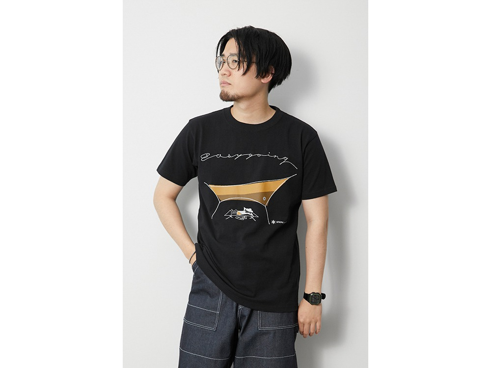Easy Going Tee S Black