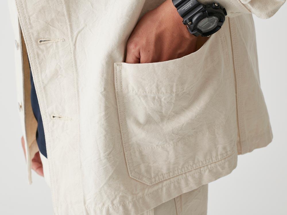 Okayama OX Work Jacket L Ecru7