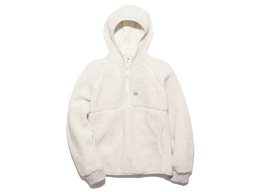Soft Wool Fleece Pullover S Oatmeal0