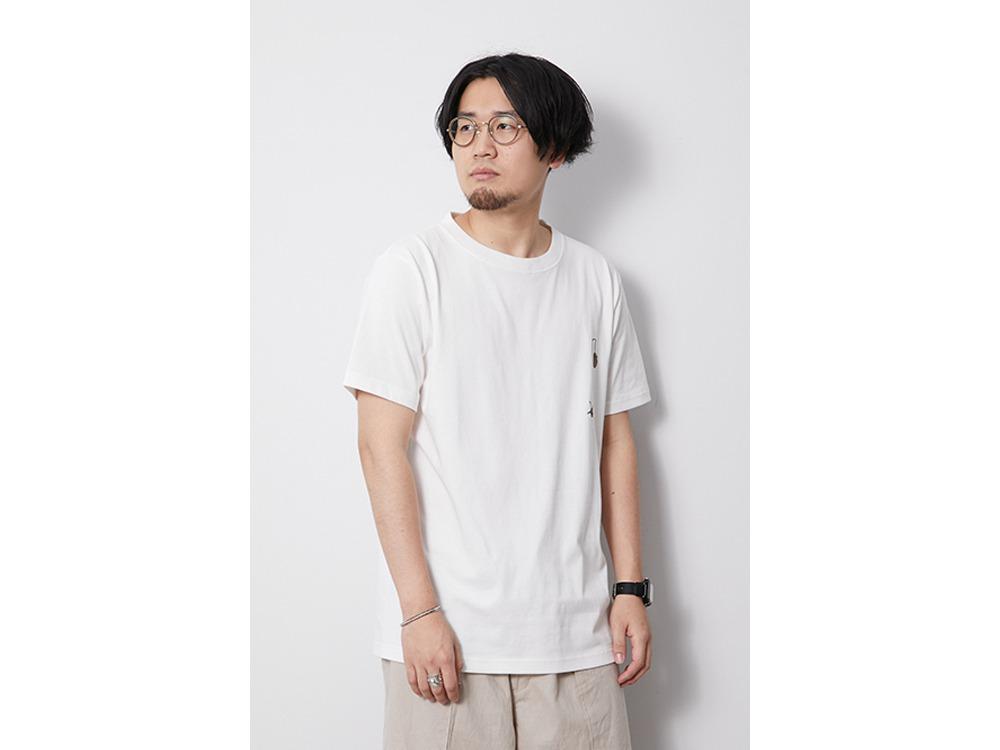 Printed Tshirt Pile Driver M White