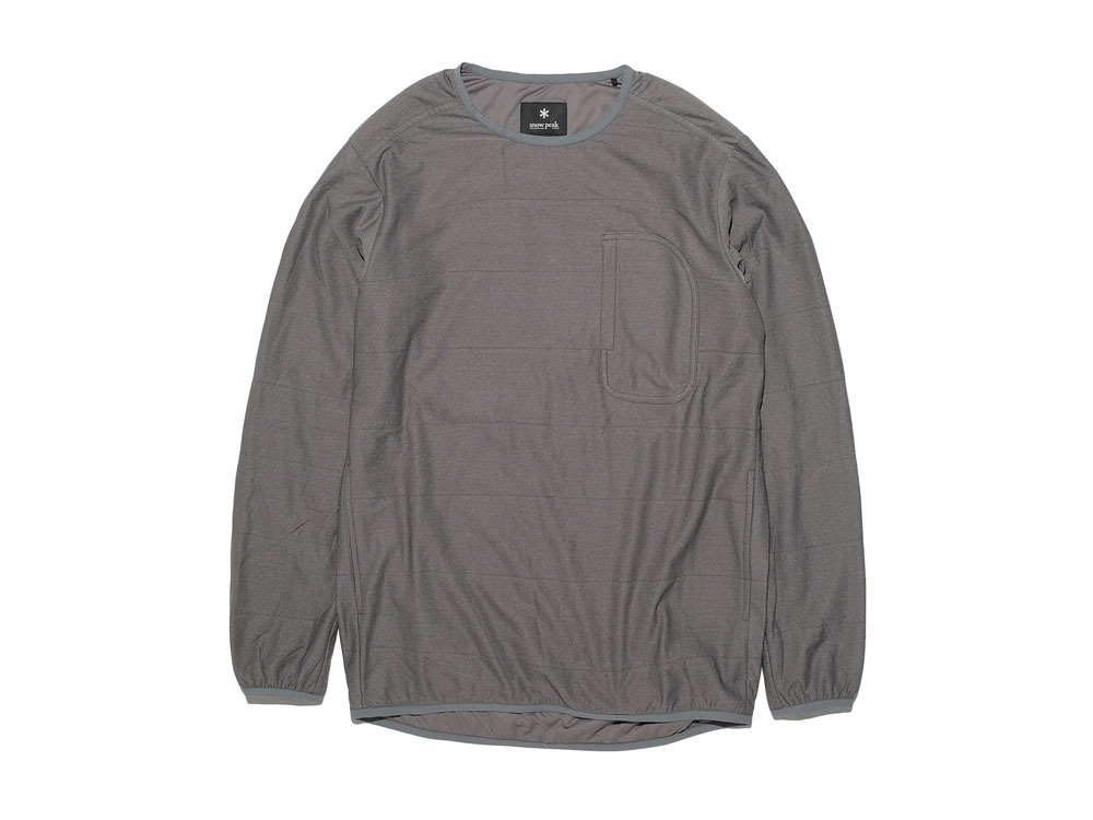 FlexibleInsulated Pullover M Grey0
