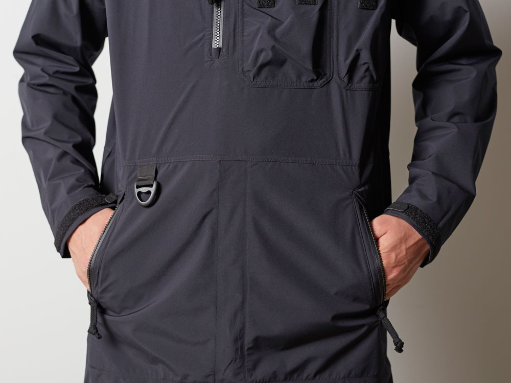 Wind&Water Resistant Anorak L Black5