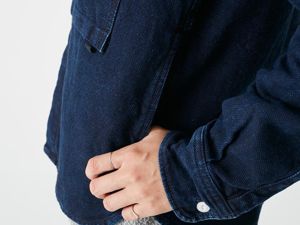 Okayama OX Shirts 1 Indigo7