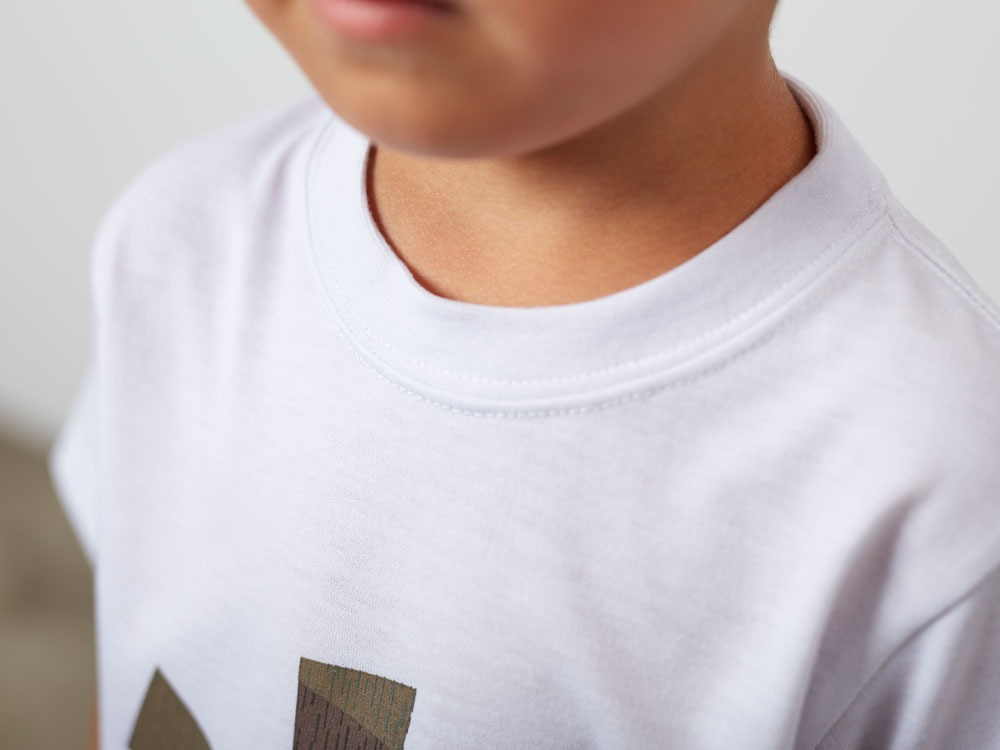 Kid'sQuickDryTshirt/RainCamo 3 White5
