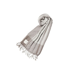 Wool Silk Striped Stole
