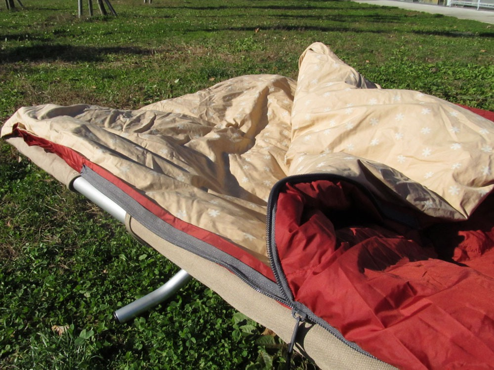 Separate Sleeping Bag Ofuton 700. Wide4