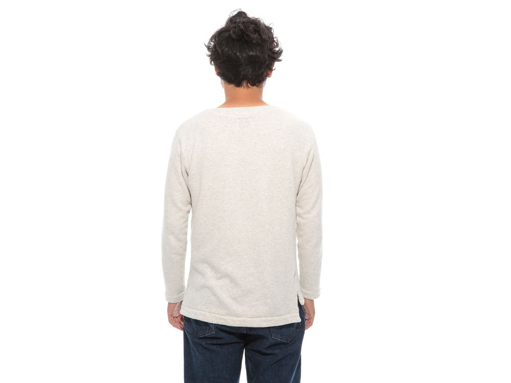 Cashmere Relaxin' Sweat Pullover L Oatmeal4