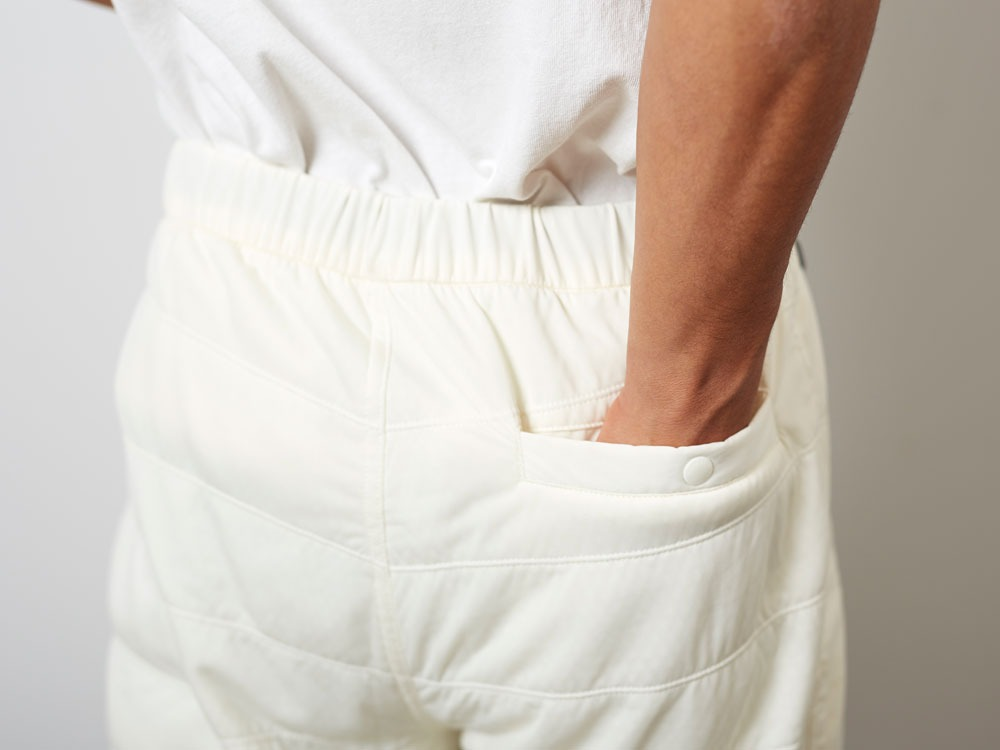 FlexibleInsulatedShorts  S White8
