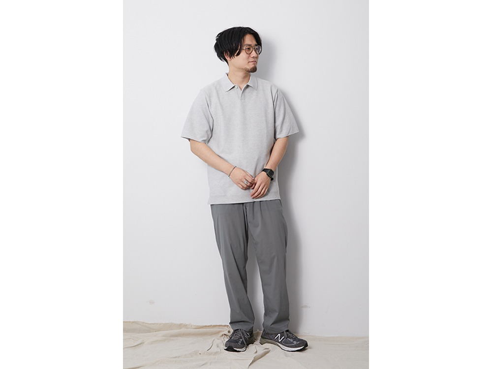 Co/Pe Dry Polo Shirt M Khaki