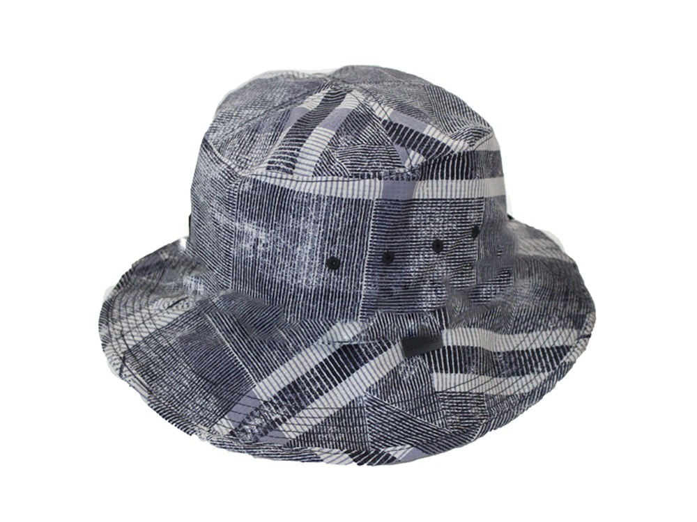 Printed Quick Dry Hat One EcruNavy
