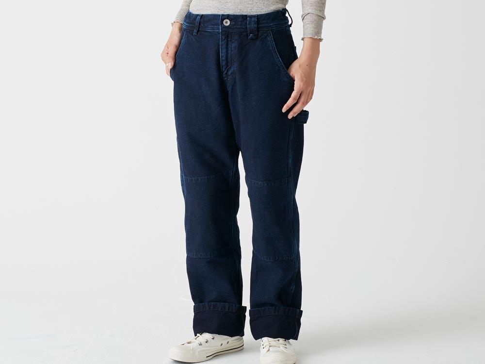 Okayama OX Pants L Indigo1