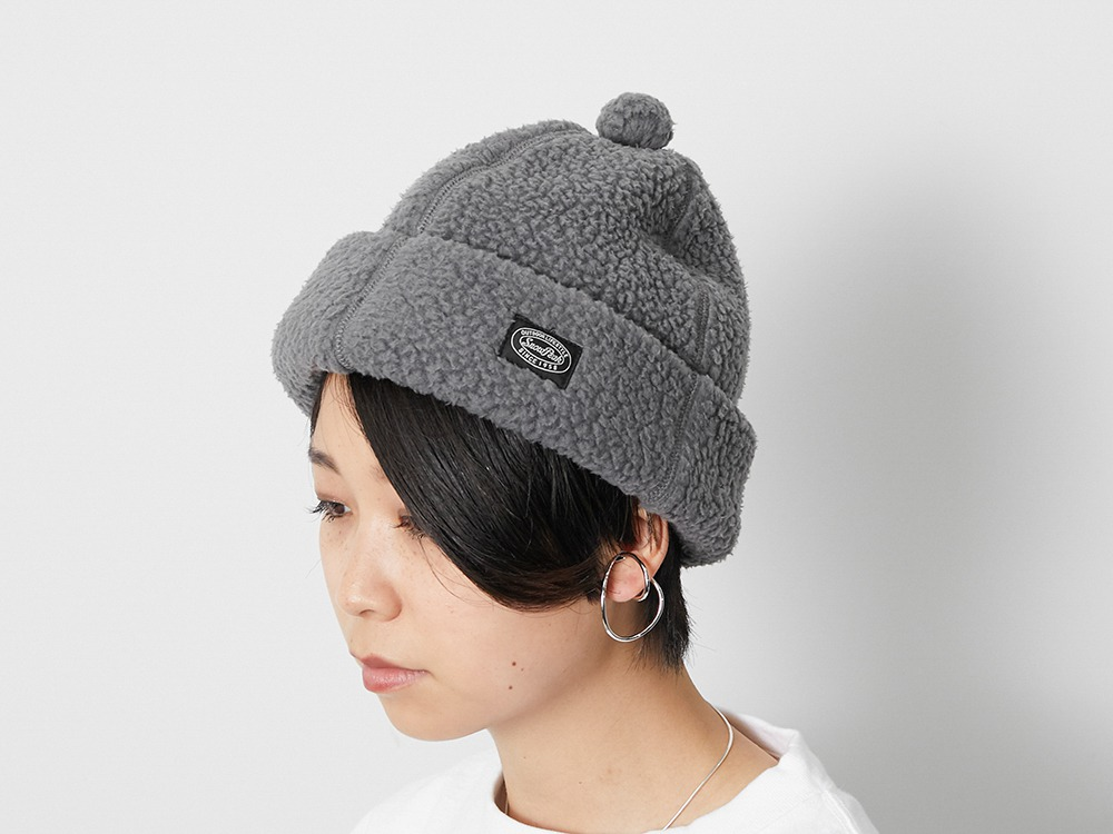 Thermal Boa Fleece cap One Grey