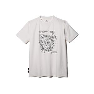 Graphic Tshirt Mt.Tanigawa M Ivory