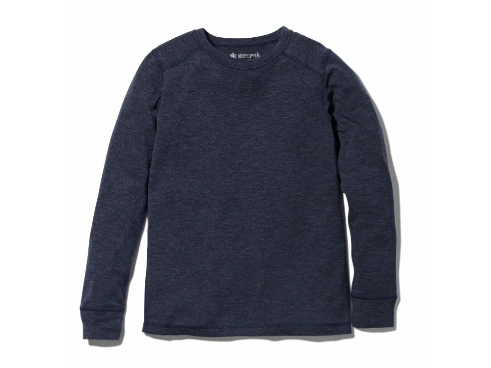 Super 100 Wool Shirt1Navy