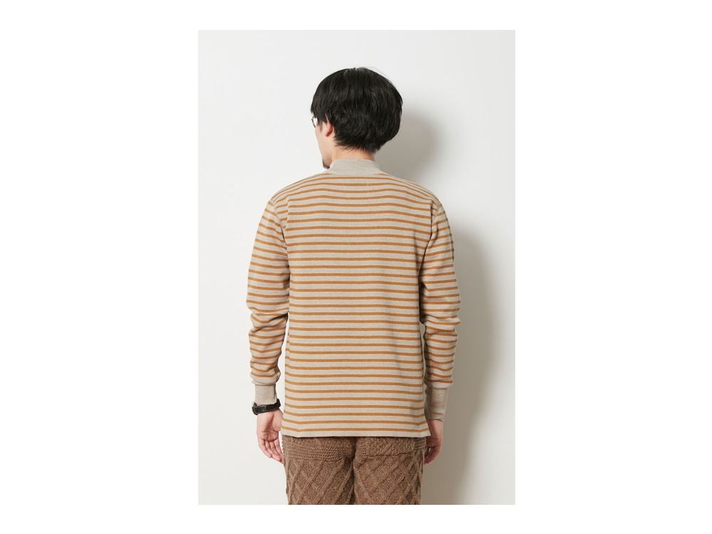 Wool Linen/Pe Turtlneck Long Sleeve S GY