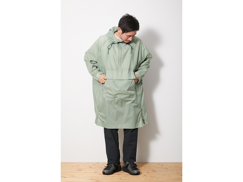 Rain&Wind Resistant Poncho 1 Black