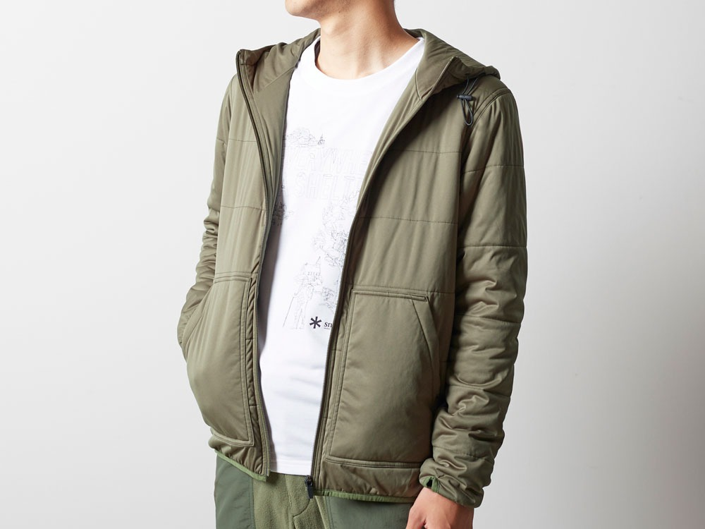 Flexible Insulated Hoodie M Olive4