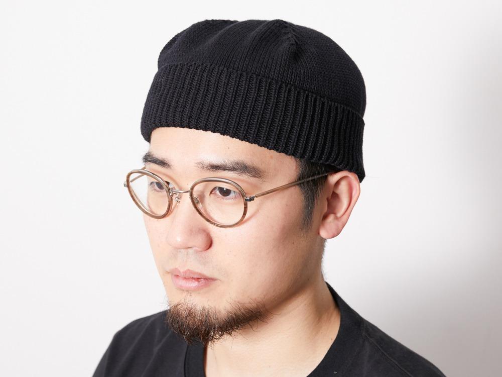 C/L Knit Cap One Black