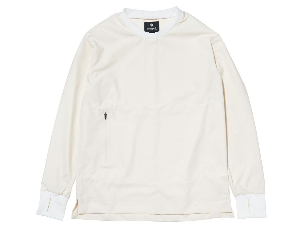 WR&Stretch Pullover L White0