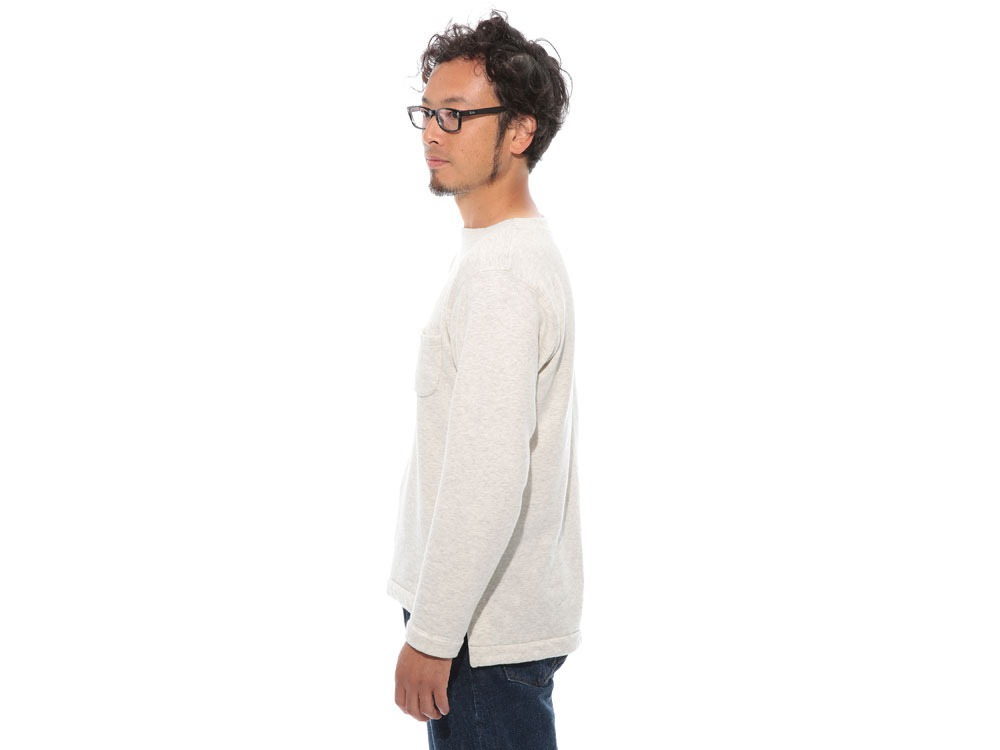Cashmere Relaxin' Sweat Pullover L Grey3