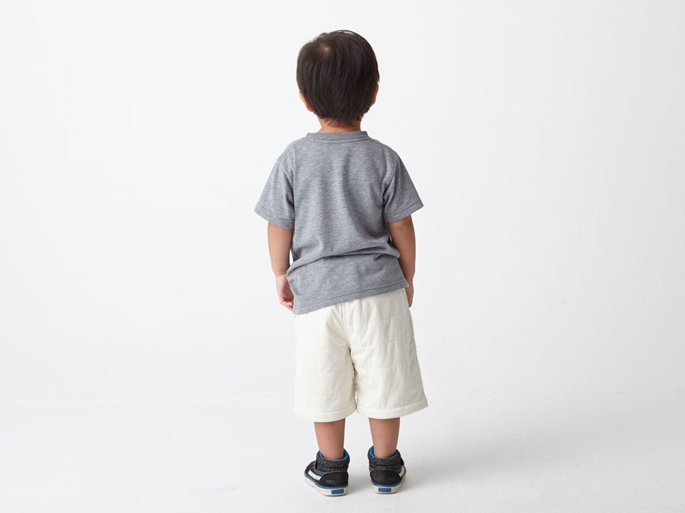 Kids Flexible Insulated Shorts 3 Grey2