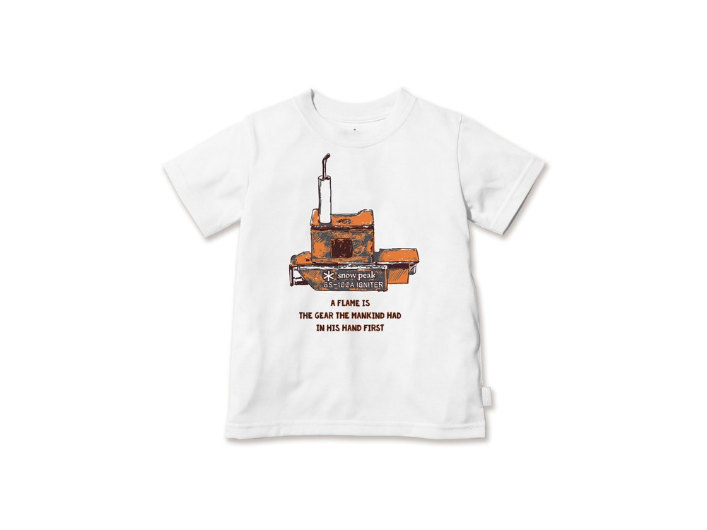 キッズ Auto Igniter Tシャツ 2 White