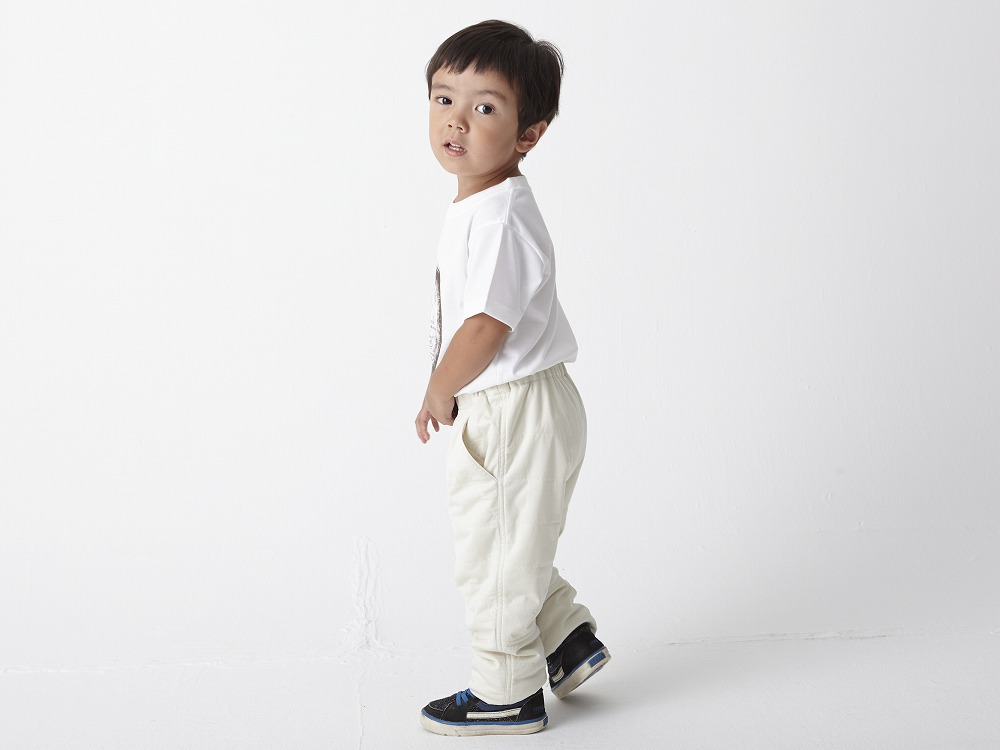 Kids Flexible Insulated Pants 4 White2