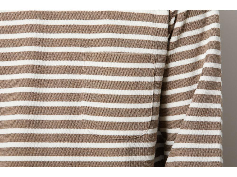 Wool Linen/Pe Crewneck Long Sleeve XL OMMD