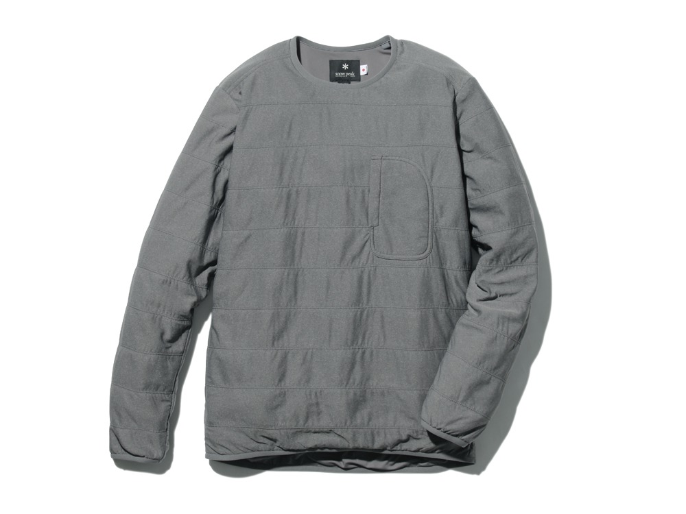 FlexibleInsulatedPullover 1 M.Grey0