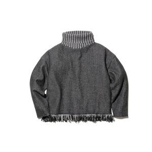 Fringe Knit Pullover
