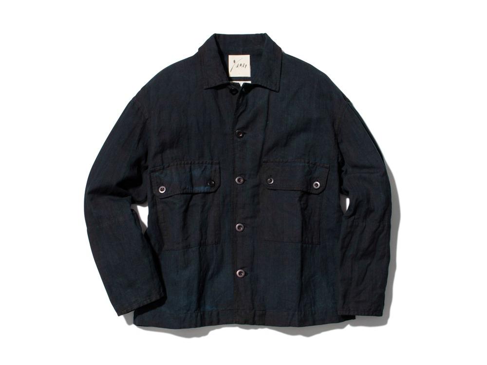 Hand-woven C/L Jacket 1 DORO+AI