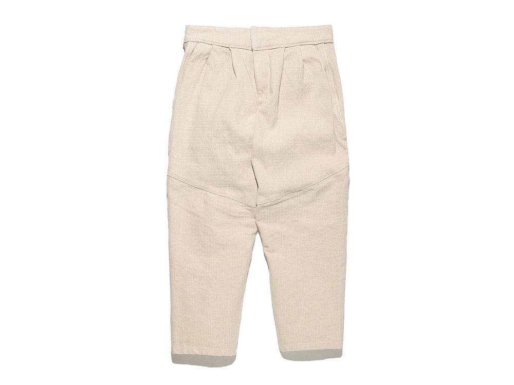 Linen HAORI Pants 1 Ecru0