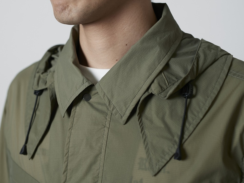 Rain&WindResistantJacket L Olive4