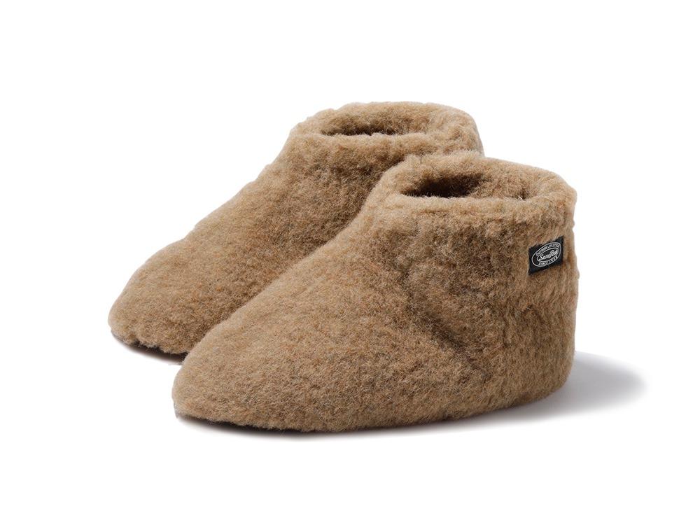 Wool Fleece Tent Shoes size S BR