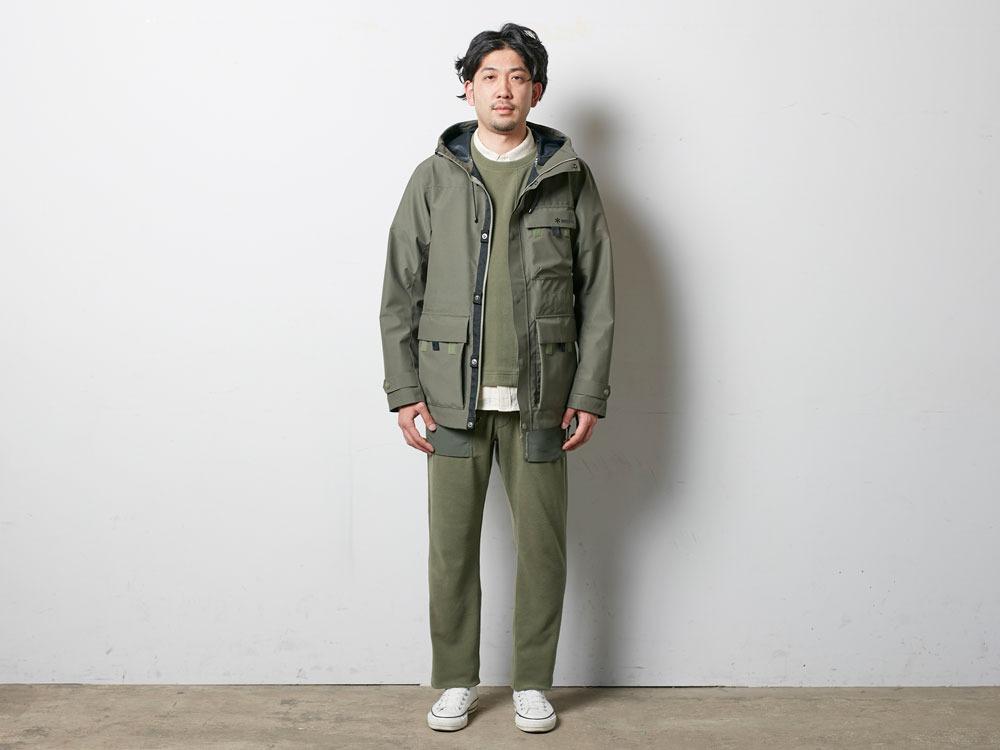 FR Rain Jacket M Olive1