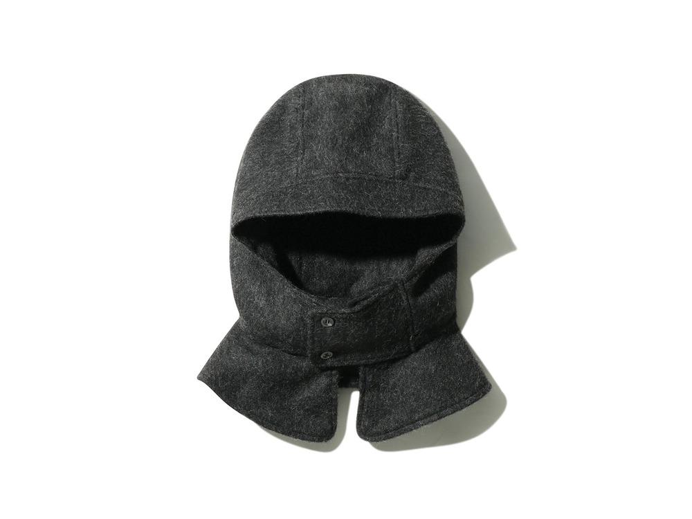 Neck Hoodie  One Dark Grey