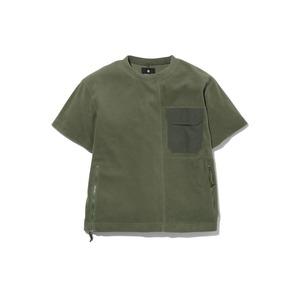 リサイクルポリエステルフリースティーシャツ