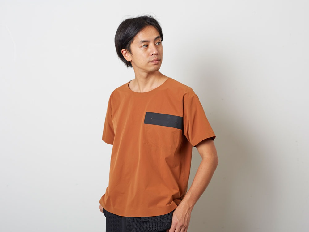 DRY&StretchPullover  L Orange8